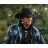 Yellowstone Season 4 Moses Brings Plenty Wool Coat